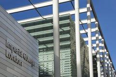 伦敦帝国学院-英国 免版税库存照片