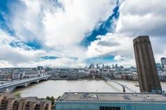 伦敦形式看法现代的塔特 库存图片