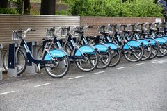伦敦循环聘用 免版税库存照片