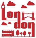 伦敦摘要 免版税库存照片