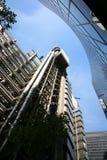 伦敦摩天大楼,伦敦劳埃德的  免版税图库摄影