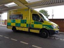 伦敦救护车 库存图片