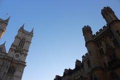 伦敦教会地标 免版税库存照片