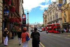 伦敦方形trafalgar 免版税库存照片
