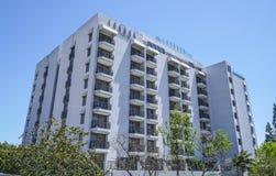 伦敦旅馆西部好莱坞比佛利山-洛杉矶-加利福尼亚- 2017年4月20日 库存图片