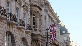 伦敦旗子 库存图片