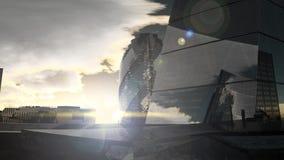 伦敦日落风景 影视素材