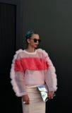 伦敦时尚星期2014年 库存照片