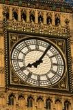 伦敦时钟 免版税库存图片