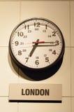伦敦时间 免版税库存图片