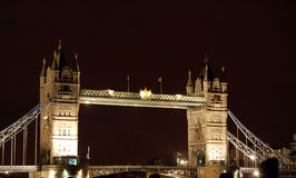 伦敦晚上塔 图库摄影