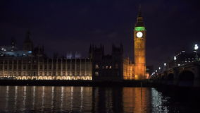 伦敦晚上 影视素材