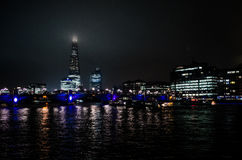 伦敦晚上 免版税库存照片