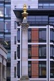 伦敦柱子 免版税库存图片