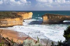 伦敦桥岩层,维多利亚,澳大利亚 免版税库存图片
