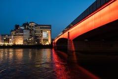 伦敦桥梁 库存图片