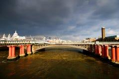 伦敦河泰晤士 库存图片