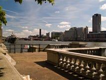 伦敦泰晤士 库存照片