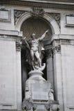 伦敦海王星雕象 免版税库存照片