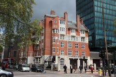 伦敦消防队 免版税图库摄影