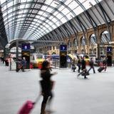伦敦火车站 图库摄影