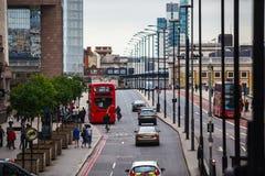 伦敦灯 库存照片