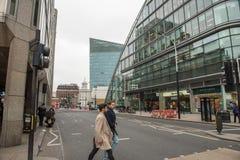 伦敦现代大厦,skyscrappers 库存照片