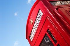 伦敦电话亭 免版税库存照片