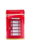 伦敦电话客舱 免版税库存照片