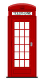 伦敦电话箱子 免版税库存照片