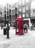 伦敦电话箱子 库存照片