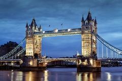 伦敦的塔桥梁,英国 图库摄影