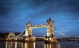 伦敦的塔桥梁,英国 库存照片