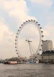 伦敦的眼睛 库存照片