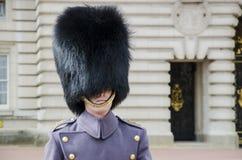 伦敦皇家卫兵 库存照片