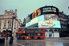 伦敦皮卡迪利广场 免版税库存图片