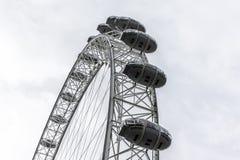 伦敦眼的细节照片 免版税图库摄影