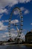 伦敦眼睛在伦敦 库存图片