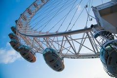 伦敦眼睛是巨型弗累斯大转轮 库存照片