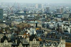 从伦敦眼睛的看法 免版税图库摄影