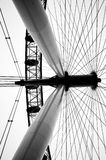 伦敦眼睛轮子 库存照片