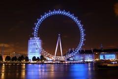 伦敦眼睛,伦敦,英国 免版税库存照片