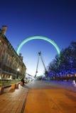 伦敦眼睛,千年轮子 图库摄影