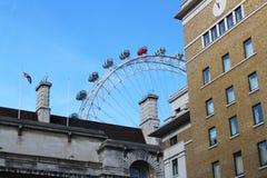伦敦眼睛 免版税库存照片
