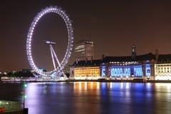 伦敦眼睛 免版税图库摄影