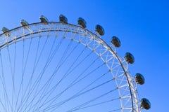 伦敦眼睛 图库摄影