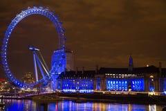 伦敦眼睛 库存照片