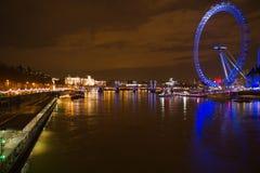 伦敦眼睛 库存图片