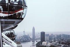 伦敦眼睛III 库存图片