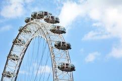 伦敦眼-伦敦英国 免版税库存照片